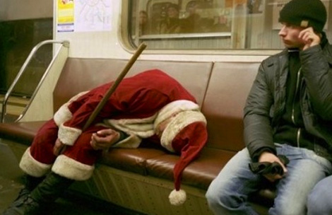 If the train's good enough for Santa, it's good enough for you.