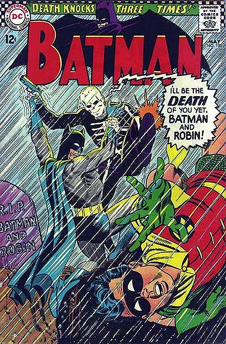 Spoiler #2 — You can't kill 60s Batman