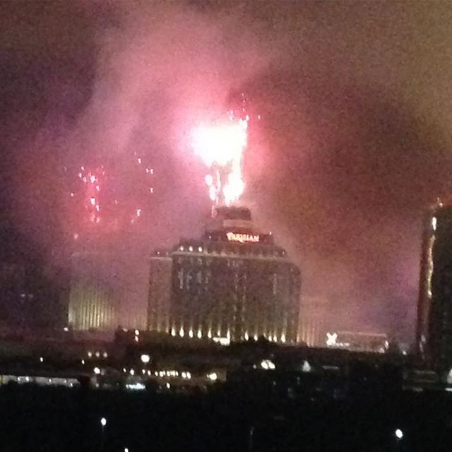 Happy New Year / Happy Blade Runner #fireworks #macau #cotai #nye