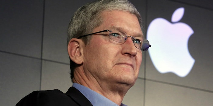 Tim Cook explained his position on the FBI's San Bernardino case. Photo Credit:  @iphonedigital