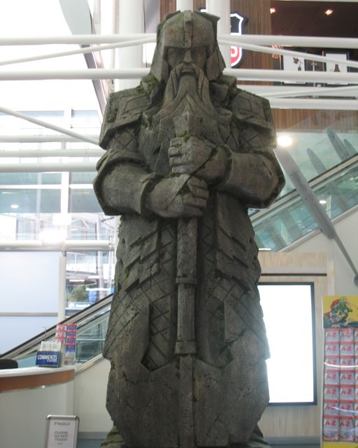 Helm's Deep is now at the Auckland airport
