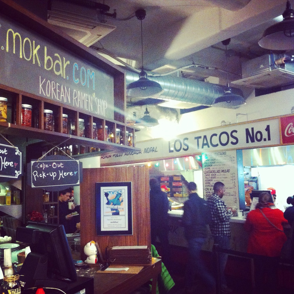 Restaurants at Chelsea Market