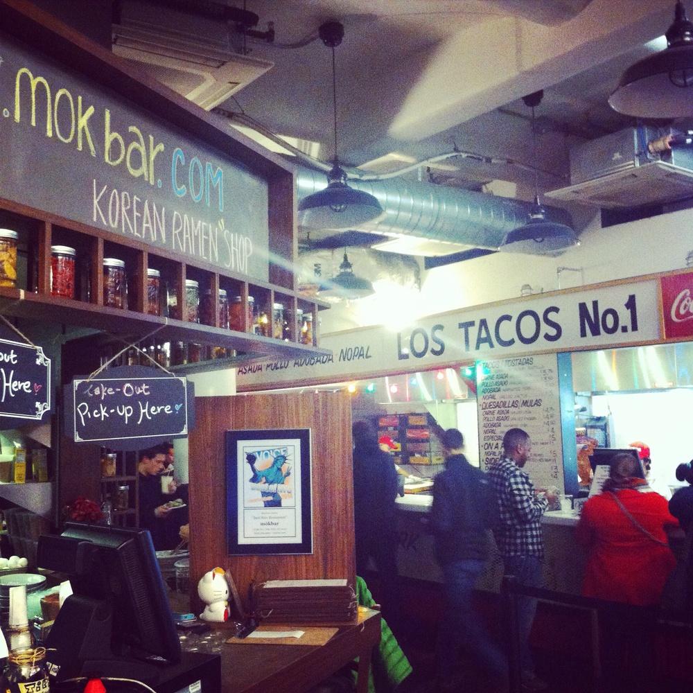 Restaurants at Chelsea Market