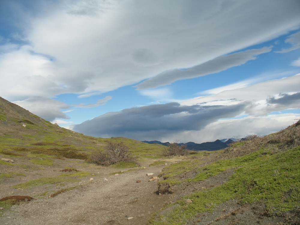 A new microclimate: Wyoming-like in its wind and stretching, out and away.