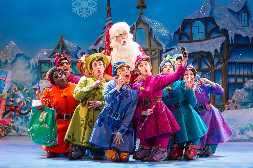 Elf: Equity National Tour and Madison Square Garden - CLICK HERE to read Playbill's official announcement of the full cast for this years equity national tour.