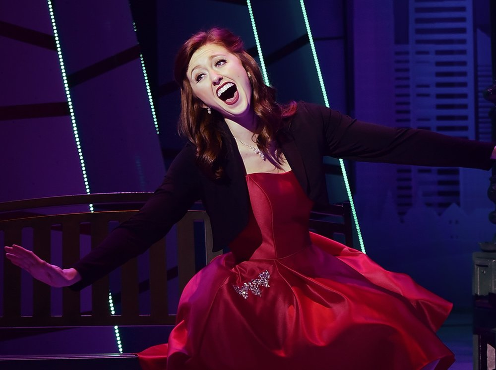 """Broadway World Review! - """"Tucker's performance came through as an authentic representation of a transformation we could all possibly use this holiday season. Set aside cynicism and embrace joy, whatever it takes."""""""