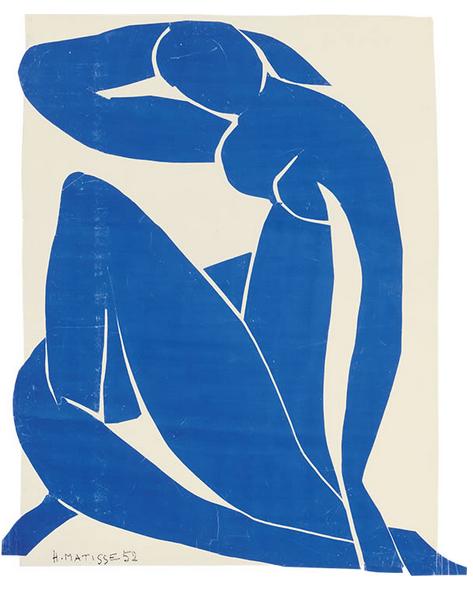 Blue Nude II, Henri Matisse