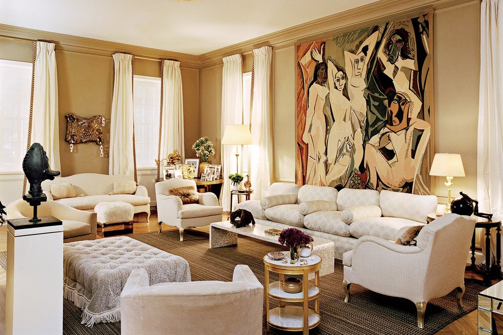 David and Renee Rockefeller's apartment by Daniel Romualdez. T Magazine.