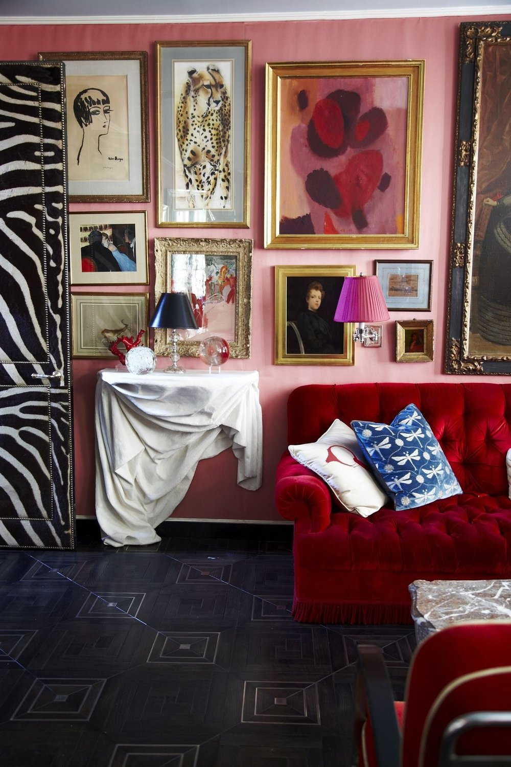Miles Redd, Photo by Paul Costello, Architectural Digest