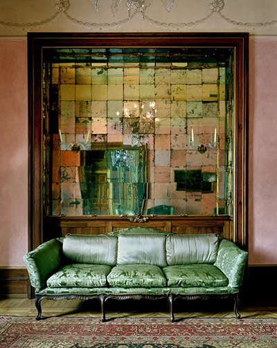 Mirror Grid, Milan, by Michael Eastman