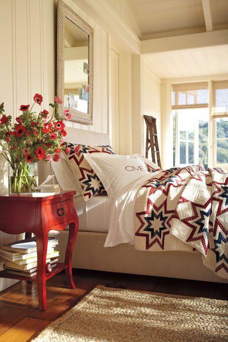 Susan Burton & Patriotic Patterns \u2014 Beth Lindsey Interior Design