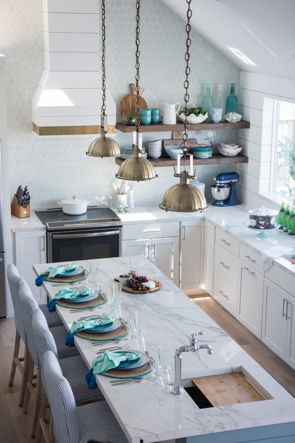 Beth Lindsey Coastal Kitchen