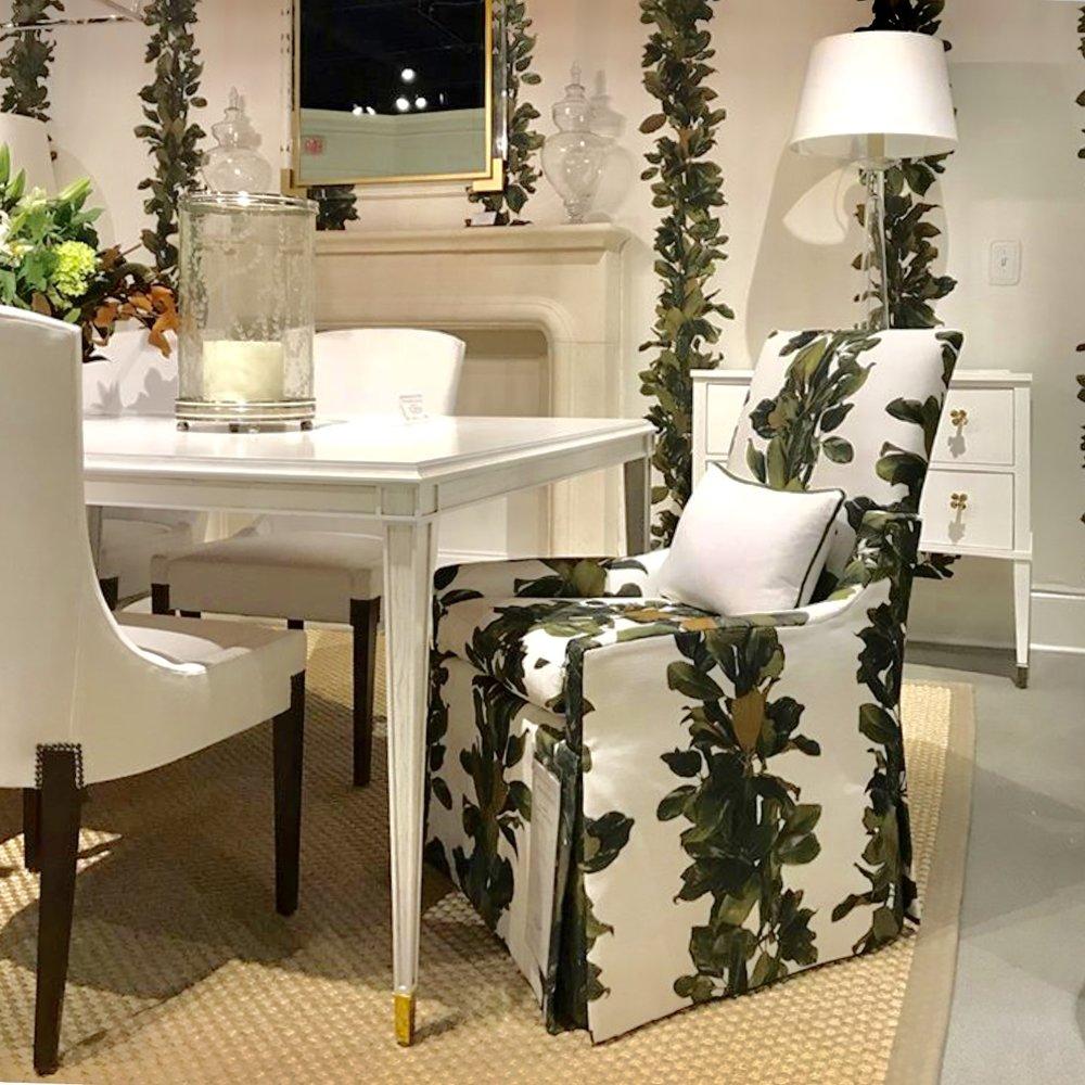 Denise McGaha Magnolia Fabric for Design Legacy at Highland House Furniture