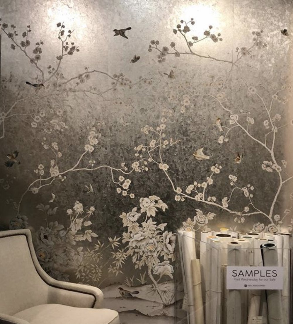 Paul Montgomery Chinoiserie Wallcovering