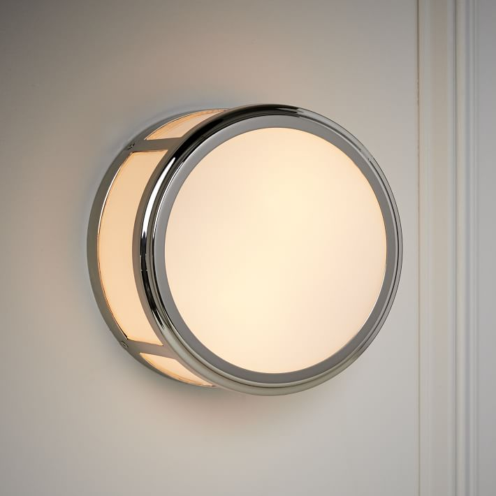 West Elm Classic Cubic Circle Sconce