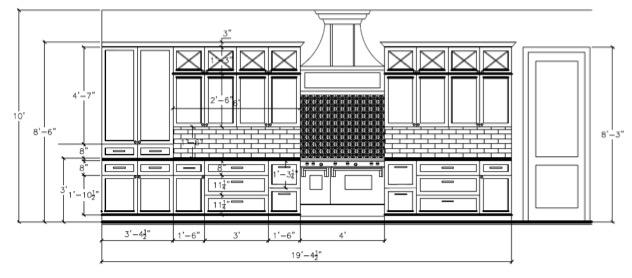 Kitchen designed by Beth Lindsey Interior Design.