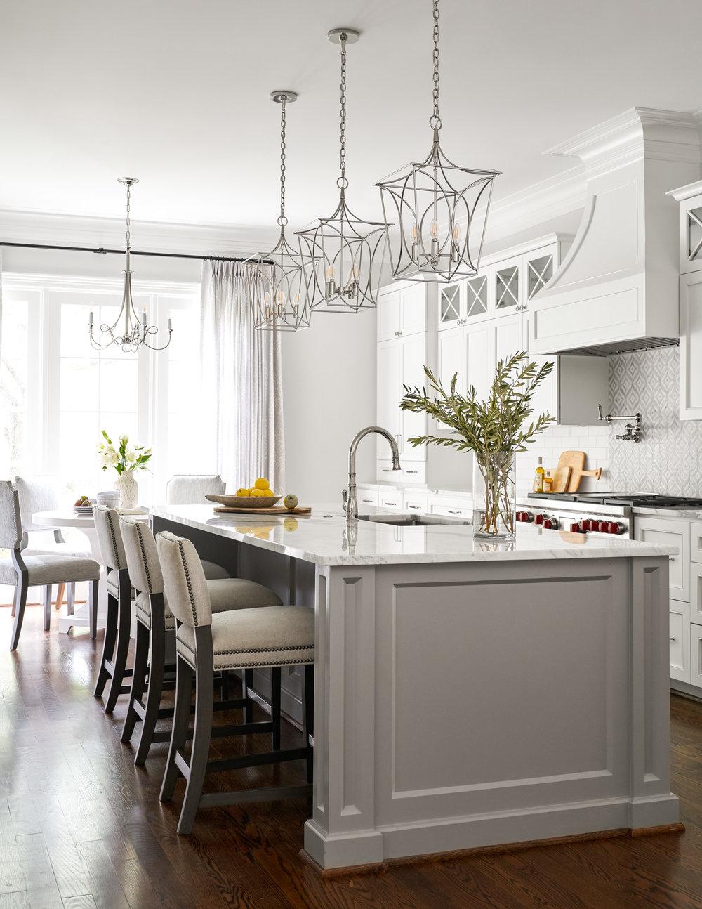 Kitchen design by Beth Lindsey Interior Design.