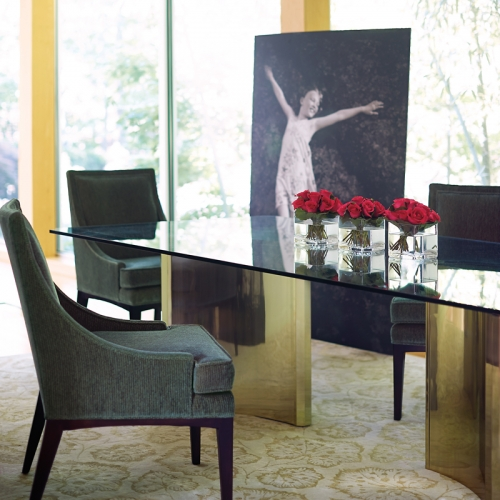 Abbot Dining Table by Bernhardt