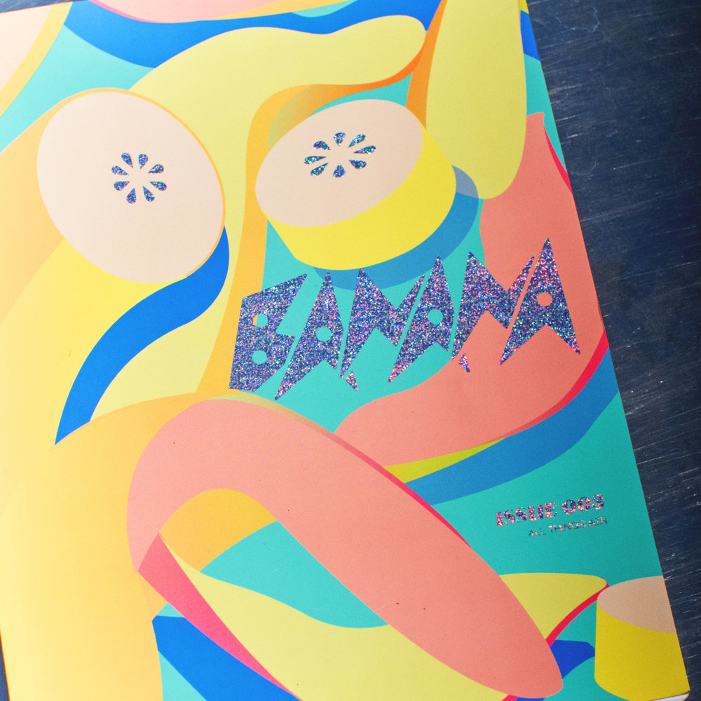 Banana Magazine Cover