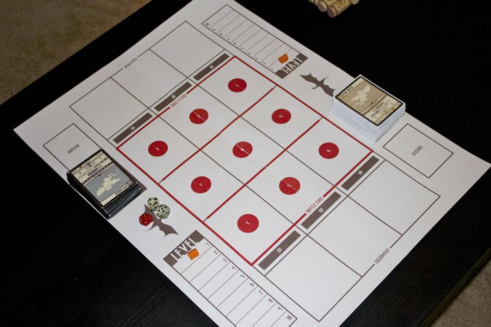 Early Version of the Destined Legends Playboard