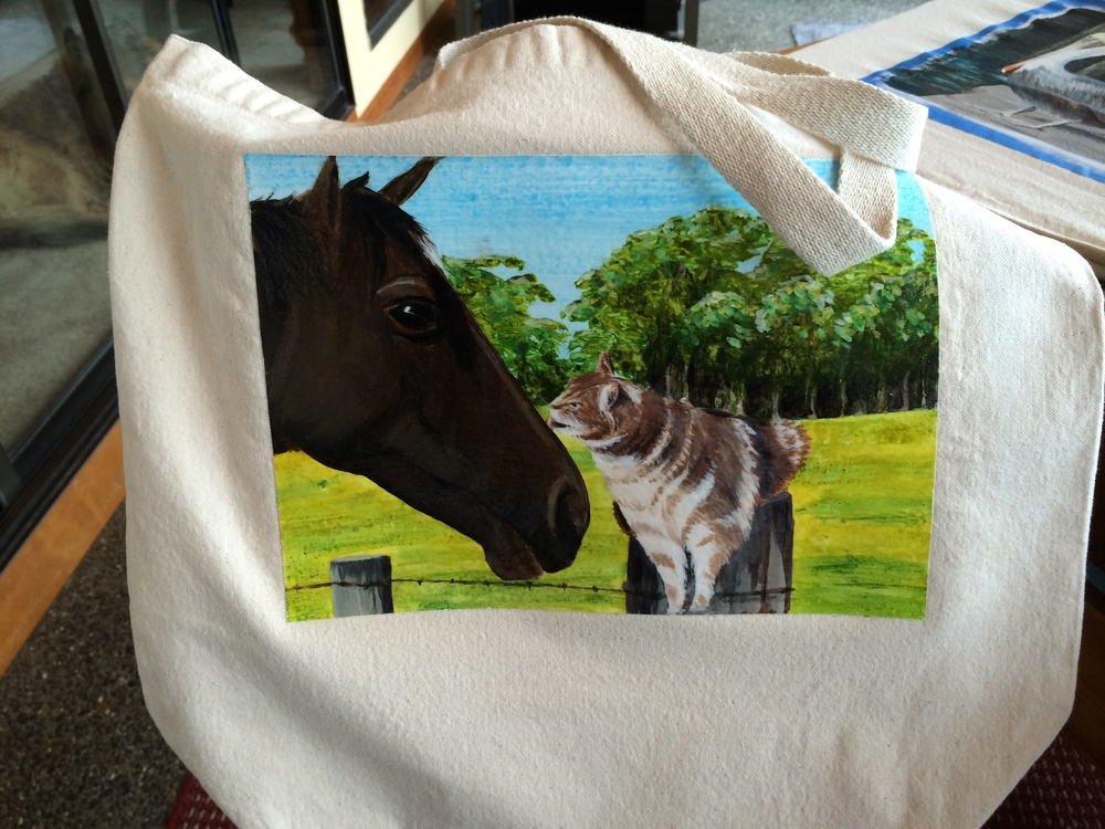 A Christmas present for a friend's daughter. She sent me a photo, so I could make my horsey look similar.