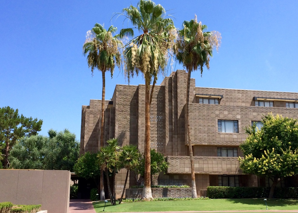 The Biltmore in Phoenix is not a jail to keep people in. It's a jail to keep the weather out.