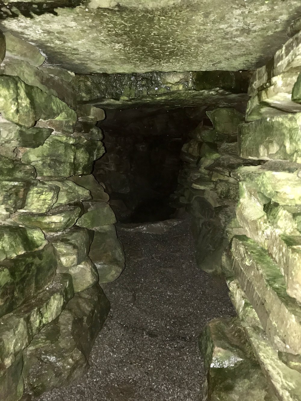 Inside a Neolithic cairn