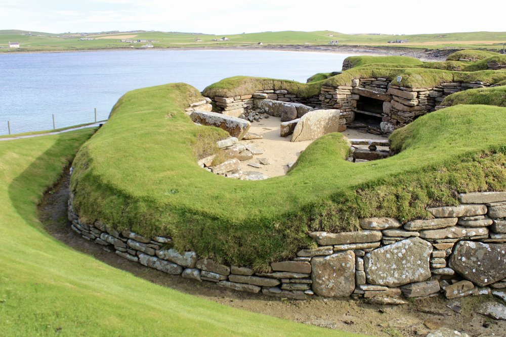 Skara Brae looking its best for me