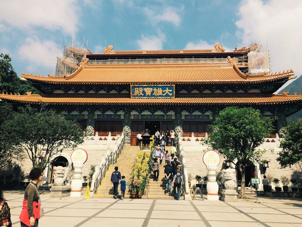 Po Lin Monastery.