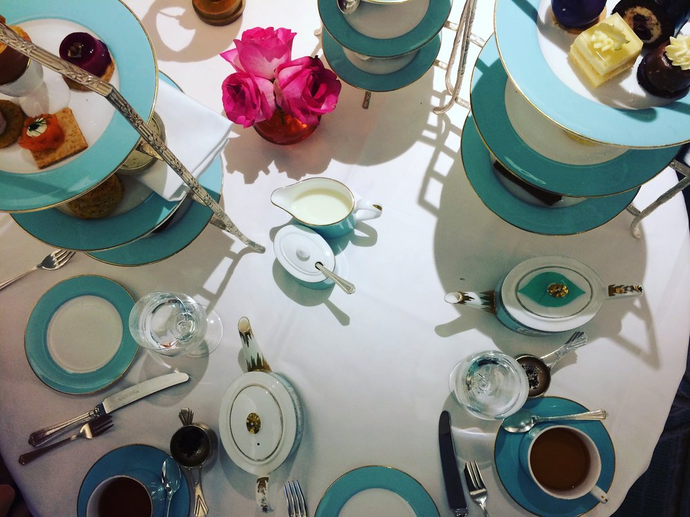 Tea at Fortnum's.