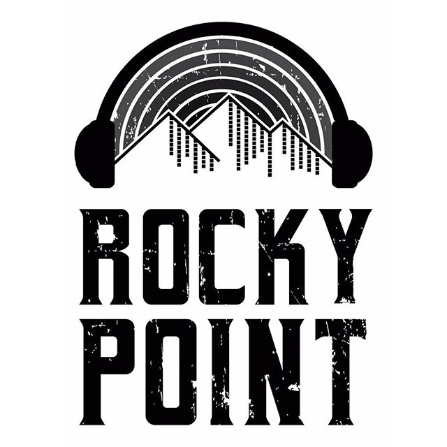 DJ ROCKY POINT Logo 🎶