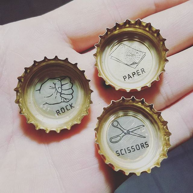"I love great #branding. It's the little things, really. Like these small icons under the cap of a Session IPA from @fullsailbrewing - it's memborable, fun, and shows thought in the #userexperience beyond just drinking a beer. Its a differentiator that says ""we get it. You like beer games."" .. .. #beer #branding #illustration #packaging #bottlecap #rockpaperscissors #sessionipa"