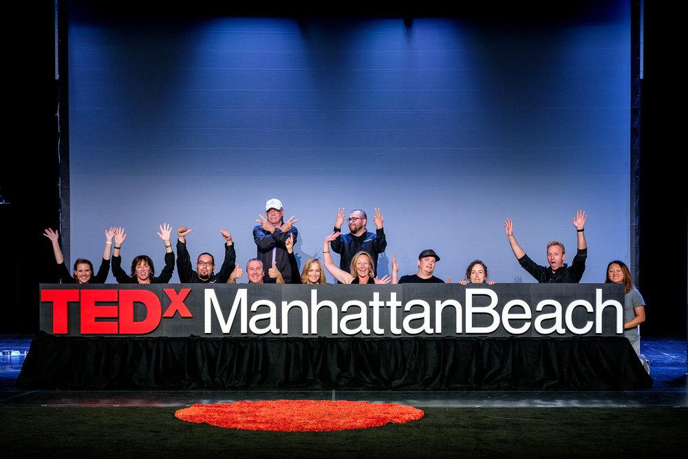 TEDxMB 2016 production crew