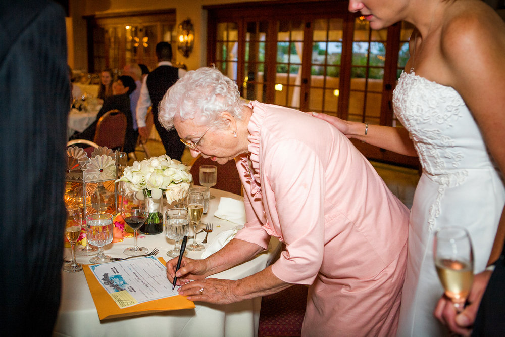 Sybil Sr signs the wedding certificate as a witness.