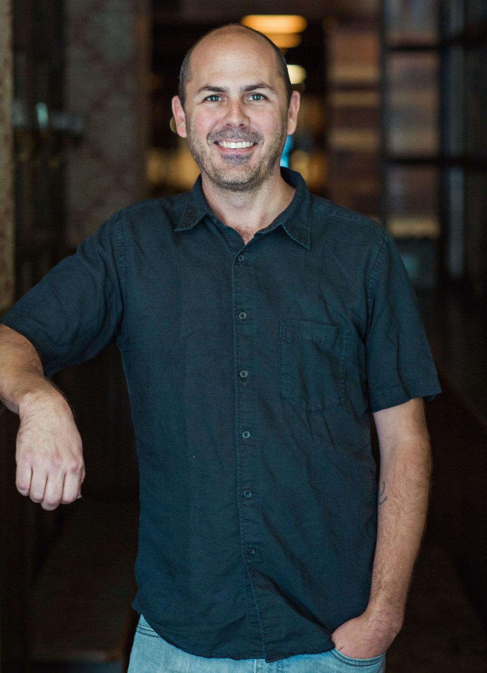 Winemaker Conor McCormack -