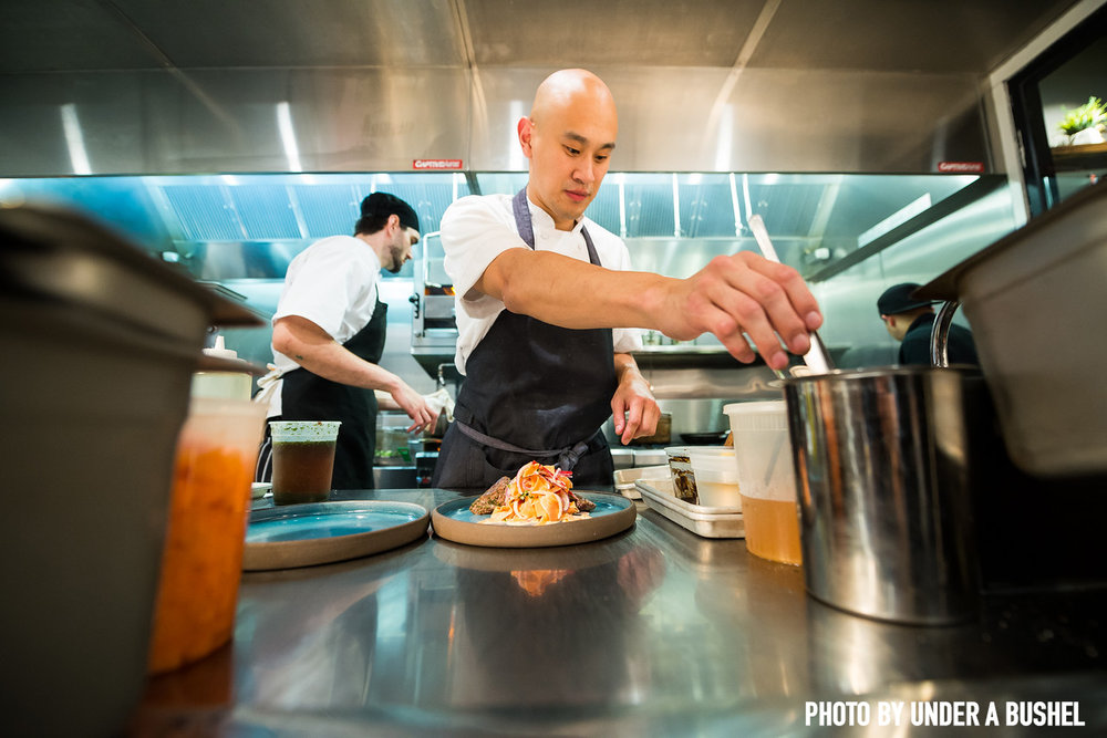 Tim Ma Plating. Under a Bushel Photography.jpg
