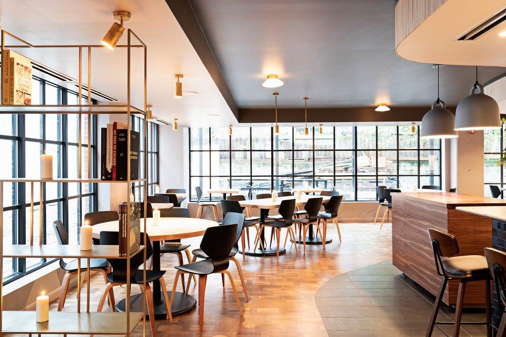 Reverie's main dining room