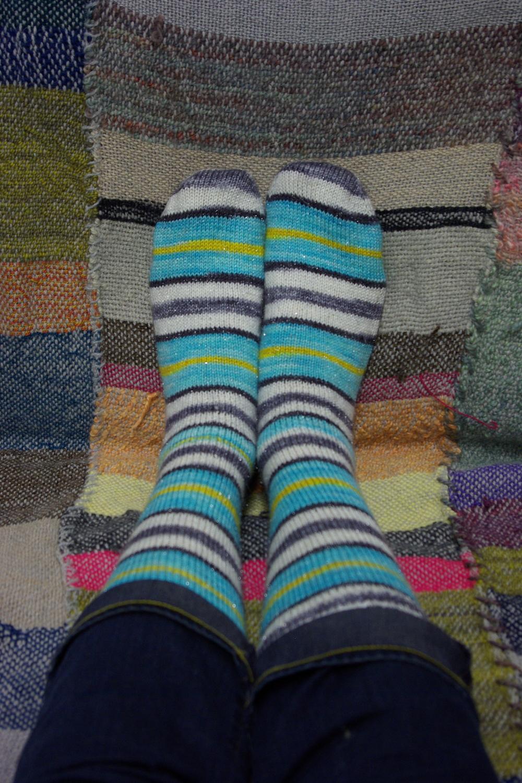 Turtlepurl socks complete!
