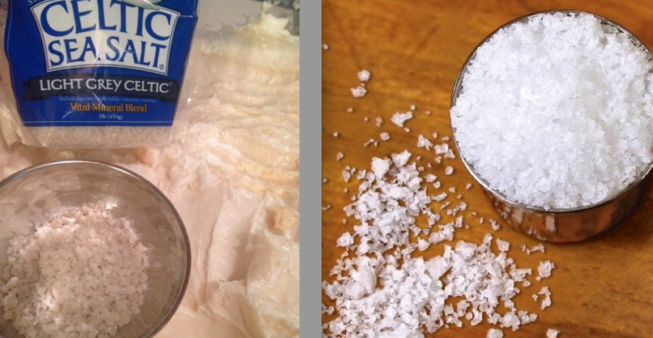 Local Arden, NC company Celtic Sea Salt went in the shaving soap.  This unrefined salt is super mineral rich, even has pink and black flecks of raw goodness in it.  The salt on the right is my next forage--all the way from Iceland.