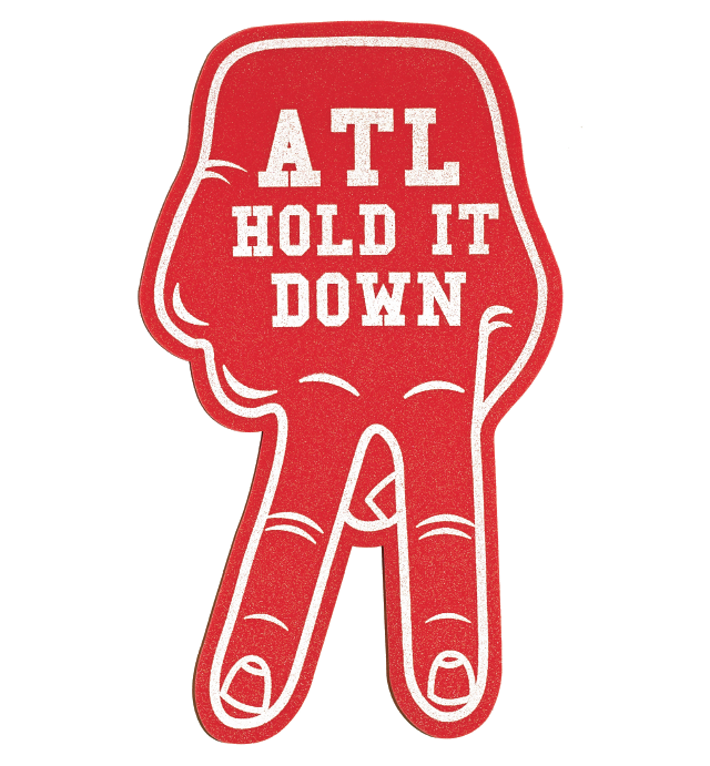 Hold It Down Foam Hand by Esperanza ATL