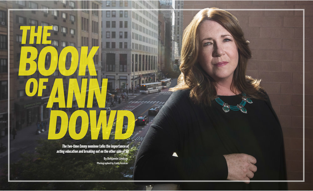 Ann Dowd   shot: EMILY ASSIRAN  publication: BACKSTAGE