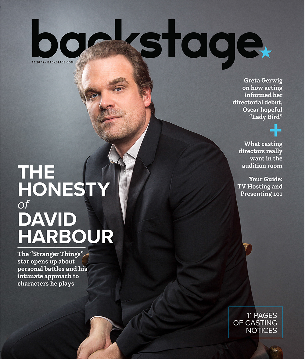 David Harbour    shot: EMILY ASSIRAN  publication: BACKSTAGE