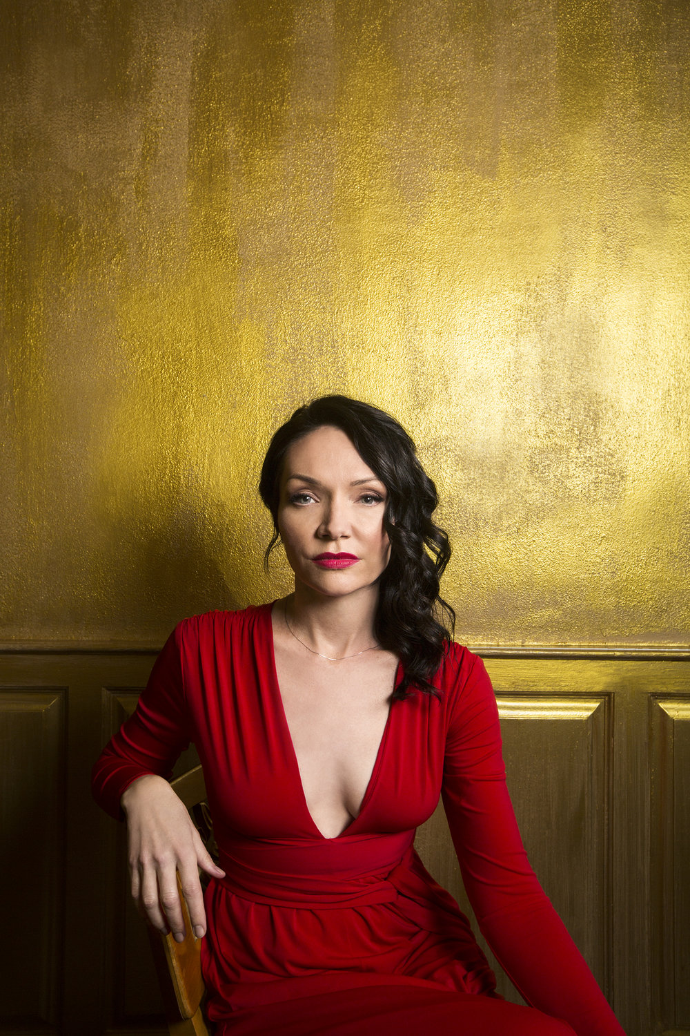 Katrina Lenk    shot: EMILY ASSIRAN  publication: BACKSTAGE