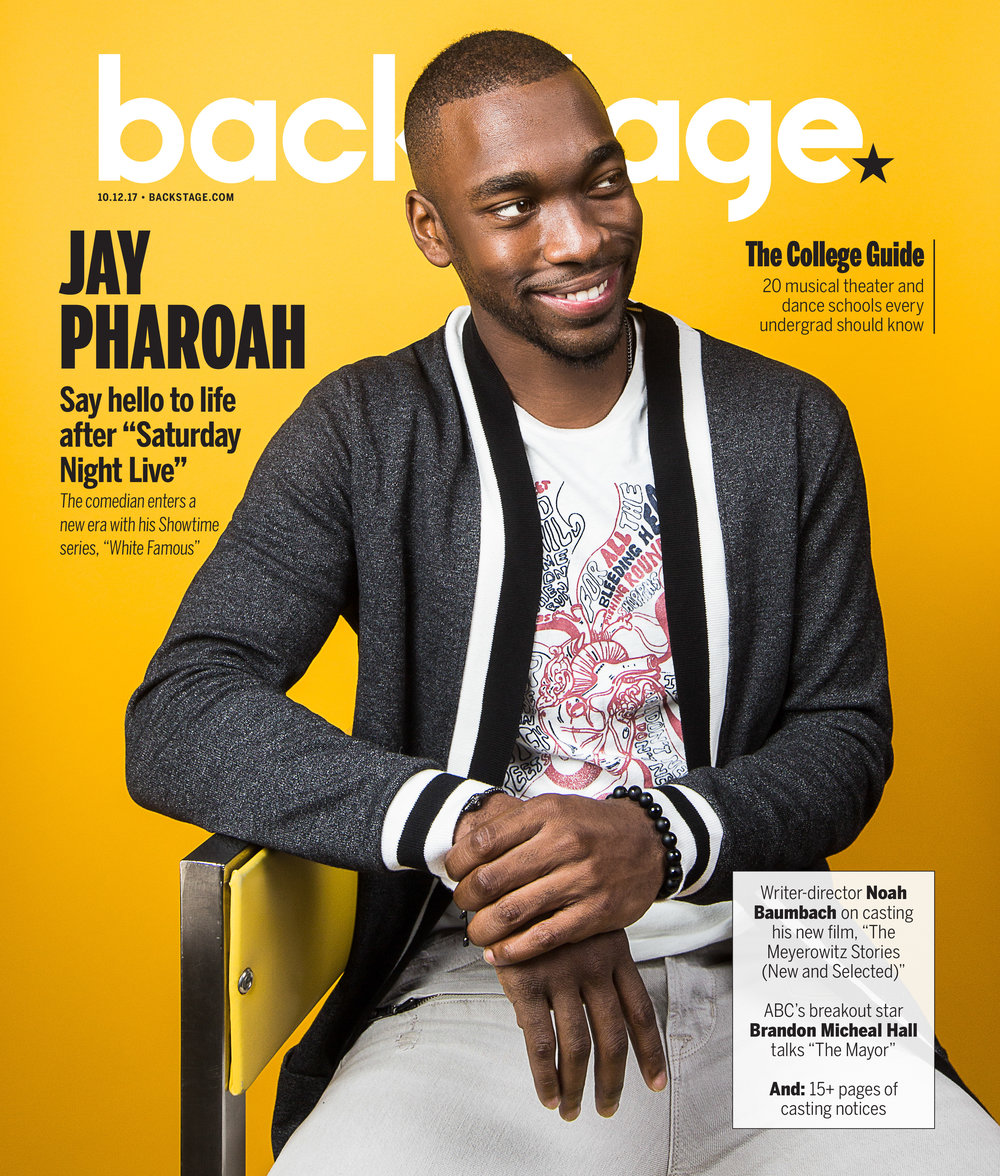 Jay Pharoah   shot: EMILY ASSIRAN  publication: BACKSTAGE
