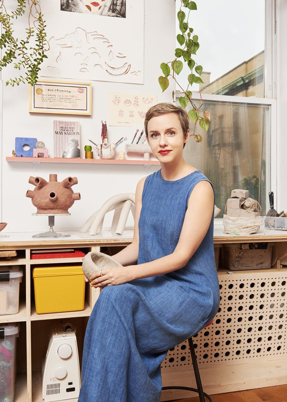 Erica Prince,  Design Sponge  Feature   2018