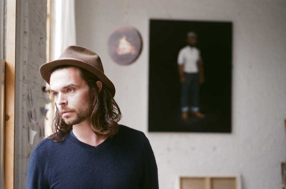 Oliver Jeffers by Rich Gilligan