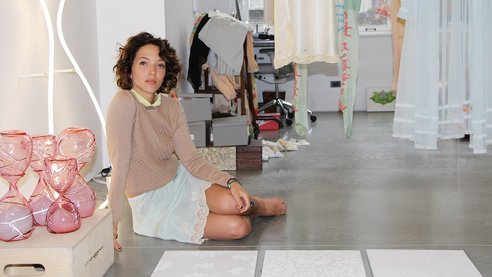 Zoë Buckman's First Solo Show Keeps It Really Real