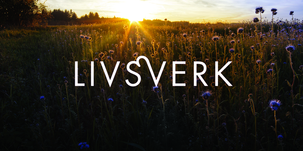IDENTITY    Livsverk  Identity for life coach and relations therapist Marianne Gustafsson. Marianne focuses on relations and couples counseling which is connotated in the logo. The name means life work, but can also be read as life pain.