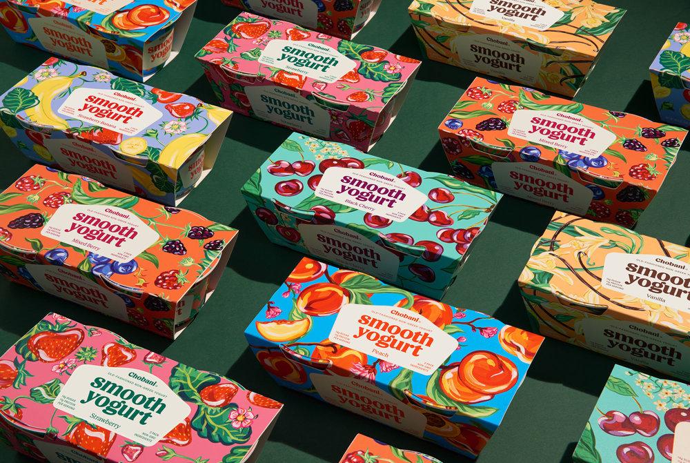 Chobani® Smooth Yogurt Family