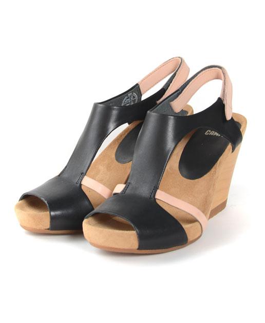 Allegra High-Wedge Sandals by Camper